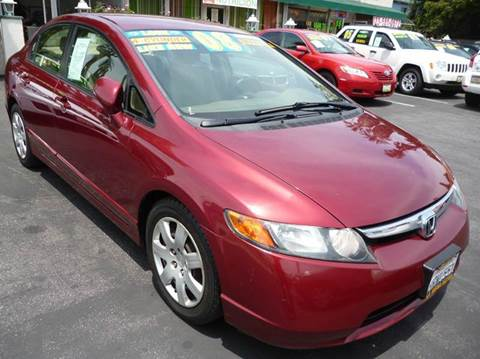 2008 Honda Civic for sale at La Mesa Auto Sales in Huntington Park CA