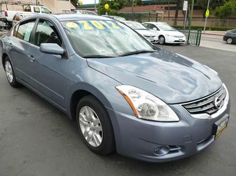 2012 Nissan Altima for sale at La Mesa Auto Sales in Huntington Park CA