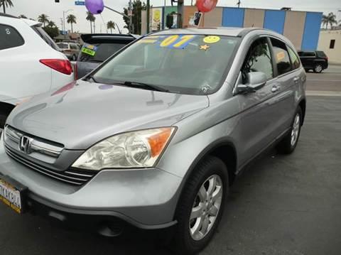 2007 Honda CR-V for sale at La Mesa Auto Sales in Huntington Park CA