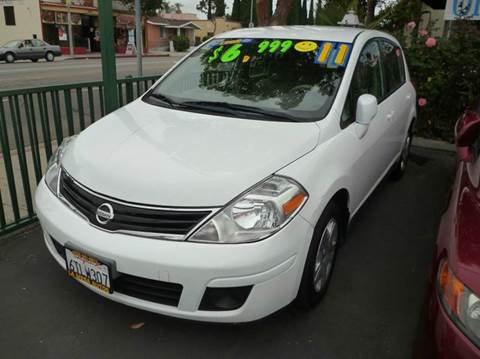 2011 Nissan Versa for sale at La Mesa Auto Sales in Huntington Park CA