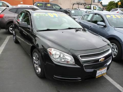 2009 Chevrolet Malibu for sale at La Mesa Auto Sales in Huntington Park CA