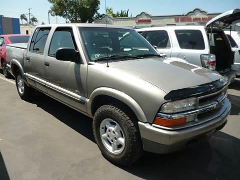 2003 Chevrolet S-10 for sale at La Mesa Auto Sales in Huntington Park CA