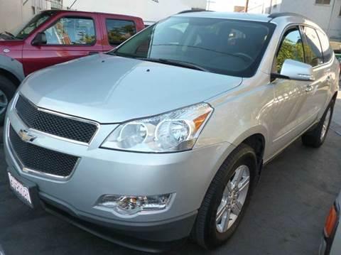 2012 Chevrolet Traverse for sale at La Mesa Auto Sales in Huntington Park CA