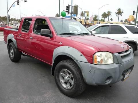 2003 Nissan Frontier for sale at La Mesa Auto Sales in Huntington Park CA
