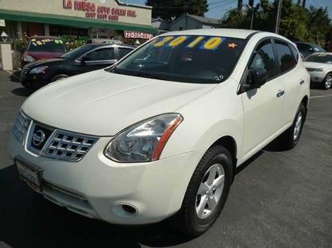 2010 Nissan Rogue for sale at La Mesa Auto Sales in Huntington Park CA