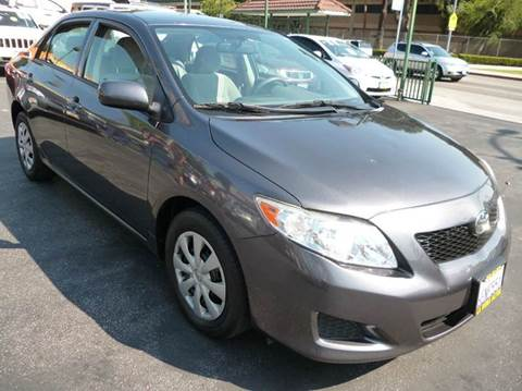2009 Toyota Corolla for sale at La Mesa Auto Sales in Huntington Park CA