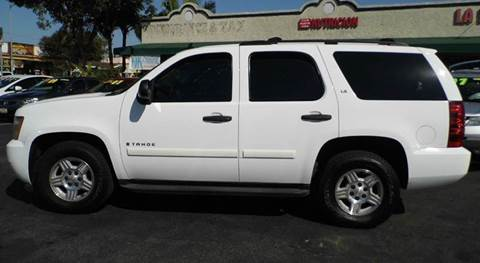 2007 Chevrolet Tahoe for sale at La Mesa Auto Sales in Huntington Park CA