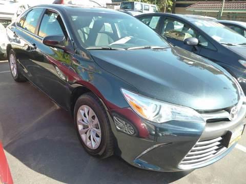 2015 Toyota Camry for sale at La Mesa Auto Sales in Huntington Park CA