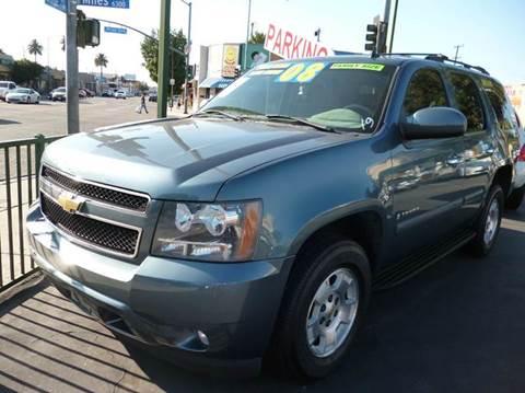 2008 Chevrolet Tahoe for sale at La Mesa Auto Sales in Huntington Park CA