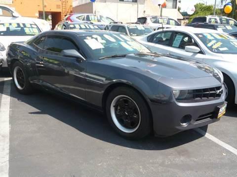 2010 Chevrolet Camaro for sale at La Mesa Auto Sales in Huntington Park CA