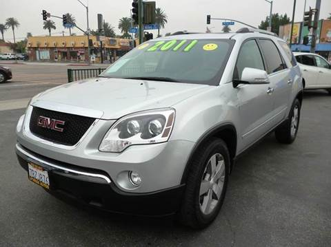 2011 GMC Acadia for sale at La Mesa Auto Sales in Huntington Park CA