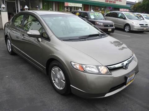 2007 Honda Civic for sale at La Mesa Auto Sales in Huntington Park CA