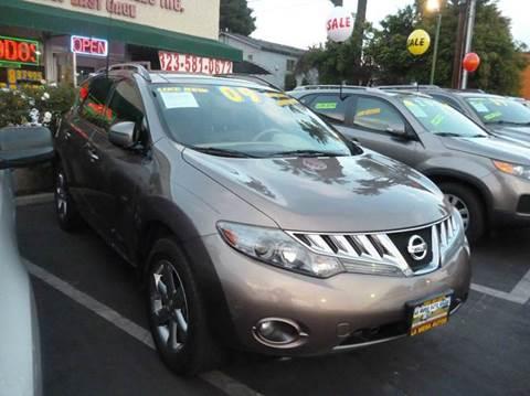 2009 Nissan Murano for sale at La Mesa Auto Sales in Huntington Park CA