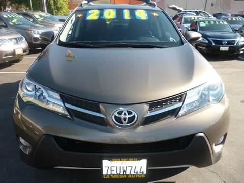 2013 Toyota RAV4 for sale at La Mesa Auto Sales in Huntington Park CA