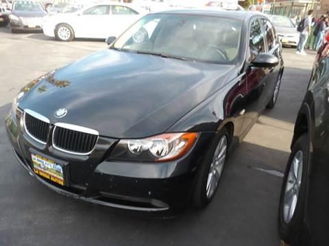 2007 BMW 3 Series for sale at La Mesa Auto Sales in Huntington Park CA