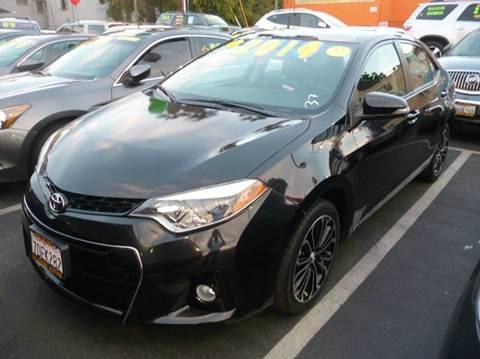 2014 Toyota Corolla for sale at La Mesa Auto Sales in Huntington Park CA