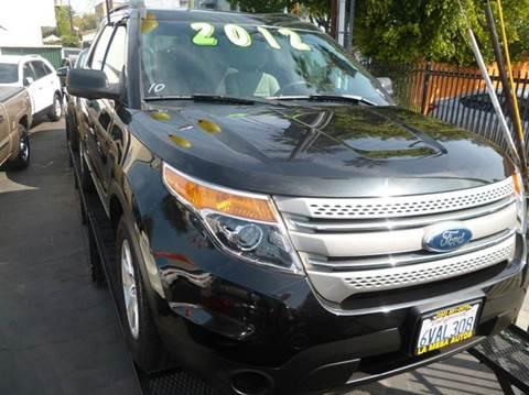 2012 Ford Explorer for sale at La Mesa Auto Sales in Huntington Park CA