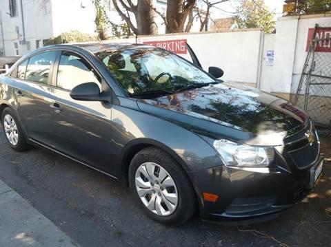 2013 Chevrolet Cruze for sale at La Mesa Auto Sales in Huntington Park CA