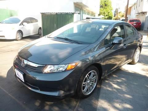 2012 Honda Civic for sale at La Mesa Auto Sales in Huntington Park CA