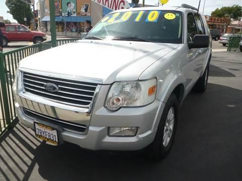 2010 Ford Explorer for sale at La Mesa Auto Sales in Huntington Park CA