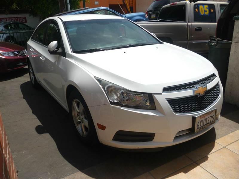 2012 Chevrolet Cruze for sale at La Mesa Auto Sales in Huntington Park CA