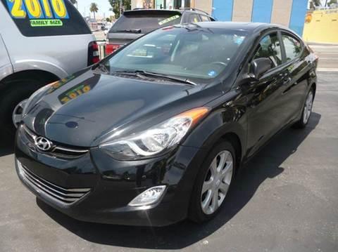 2012 Hyundai Elantra for sale at La Mesa Auto Sales in Huntington Park CA