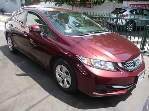 2013 Honda Accord for sale at La Mesa Auto Sales in Huntington Park CA