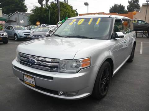 2011 Ford Flex for sale at La Mesa Auto Sales in Huntington Park CA