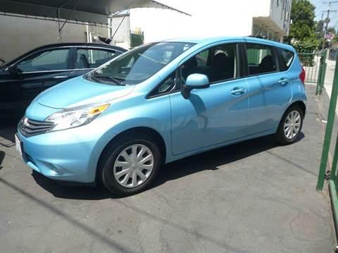 2014 Nissan Versa Note for sale at La Mesa Auto Sales in Huntington Park CA