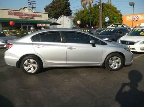 2014 Honda Civic for sale at La Mesa Auto Sales in Huntington Park CA