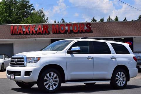 2013 Toyota Sequoia for sale in Fredericksburg, VA