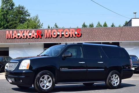 2008 gmc yukon for sale in virginia On maxkar motors fredericksburg va