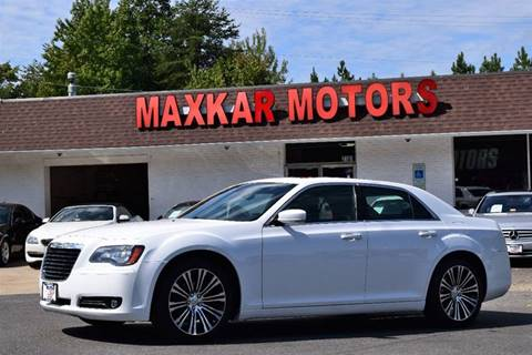 chrysler 300 for sale in fredericksburg va On maxkar motors fredericksburg va