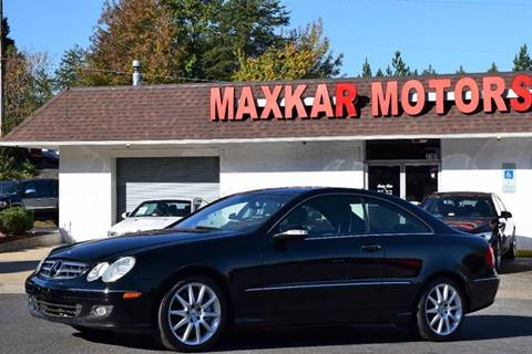 2007 mercedes benz clk for sale in fredericksburg va On maxkar motors fredericksburg va