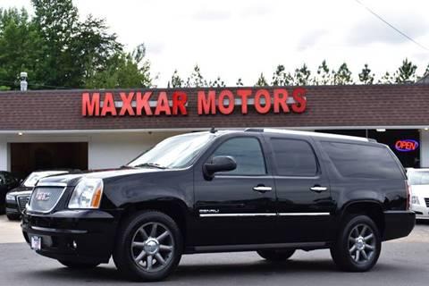 2012 GMC Yukon XL for sale in Fredericksburg, VA
