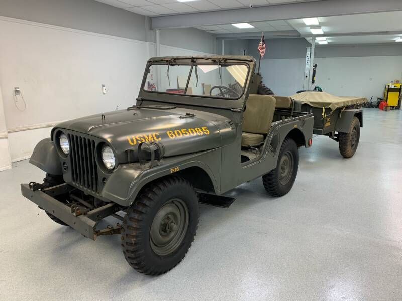 1955 Willys Jeep for sale at Towne Auto Sales in Kearny NJ