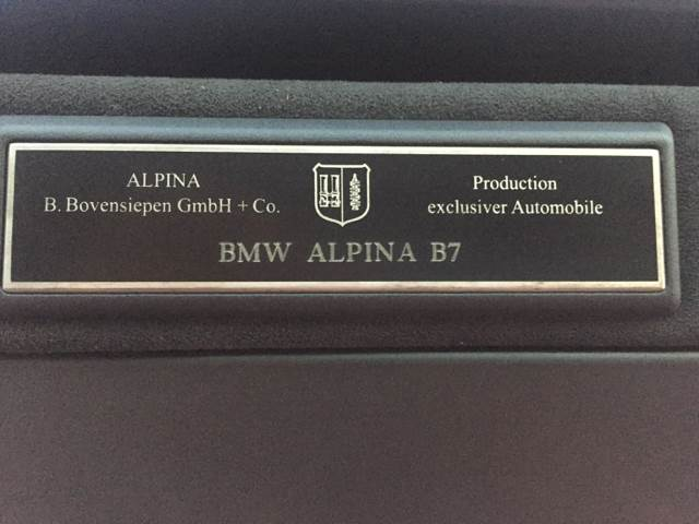 2007 BMW 7 Series ALPINA B7 4dr Sedan - Kearny NJ