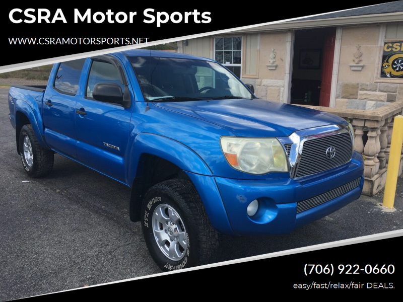 2008 Toyota Tacoma 4x2 PreRunner V6 4dr Double Cab 5.0 ft. SB 5A - Augusta GA