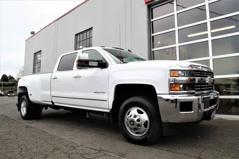 2016 Chevrolet Silverado 3500HD LTZ for sale at VIP Motors LLC in Portland OR