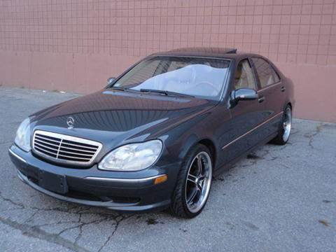 2001 Mercedes-Benz S-Class for sale at United Motors Group in Lawrence MA