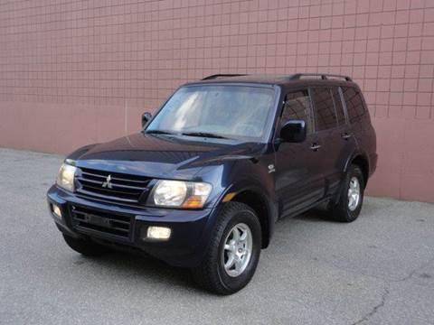 2002 Mitsubishi Montero for sale at United Motors Group in Lawrence MA