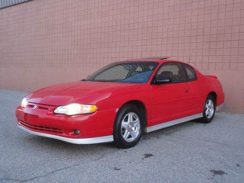 2002 Chevrolet Monte Carlo for sale at United Motors Group in Lawrence MA