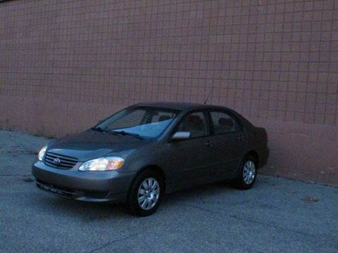 2003 Toyota Corolla for sale at United Motors Group in Lawrence MA