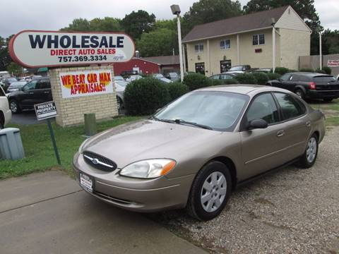 2002 Ford Taurus for sale in Newport News, VA