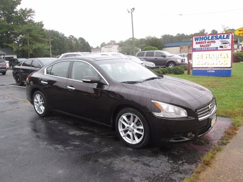 2010 Nissan Maxima for sale in Newport News, VA