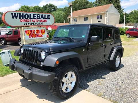 2018 Jeep Wrangler Unlimited for sale in Newport News, VA