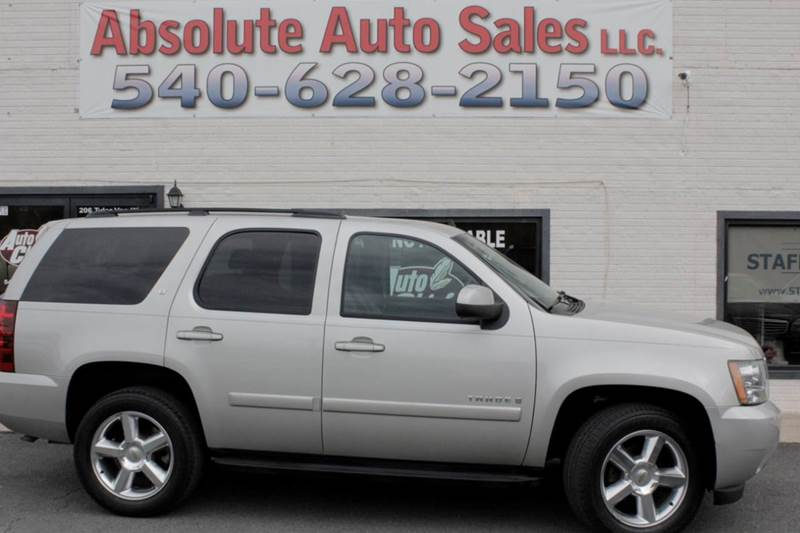 2007 Chevrolet Tahoe for sale at Absolute Auto Sales in Fredericksburg VA