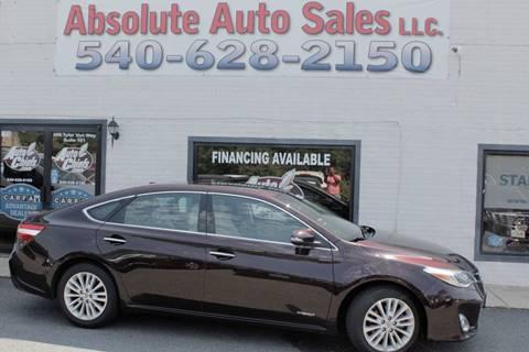2014 Toyota Avalon Hybrid for sale in Fredericksburg, VA