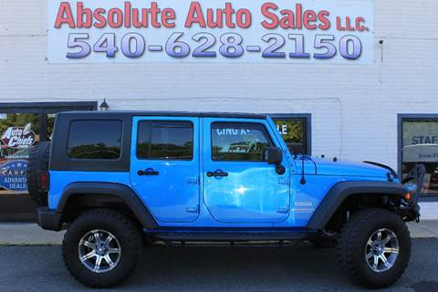 Absolute Auto Sales >> Absolute Auto Sales Car Dealer In Fredericksburg Va