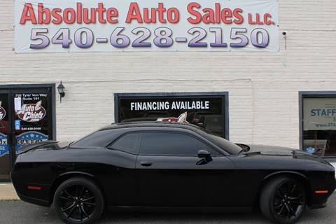 2016 Dodge Challenger for sale in Fredericksburg, VA